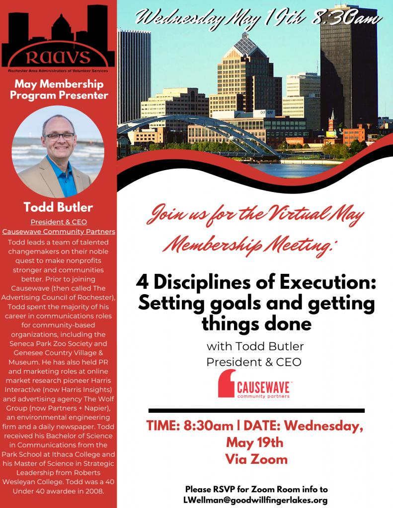 May Program Meeting @ Zoom Meeting